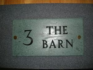 Lake District Slate House Name Signs - prices start from £29.99